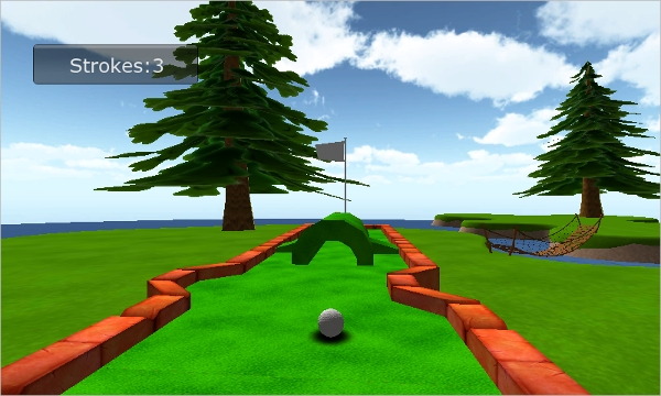 cartoon mini golf games 3d