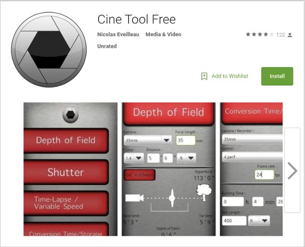 cine tool free