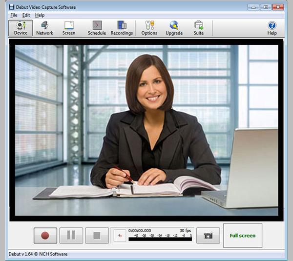 debut video capture – free webcam recorder