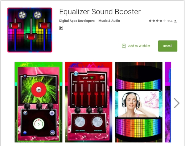 equalizer sound booster by digital apps developers