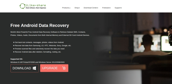 free android data recovery software 1