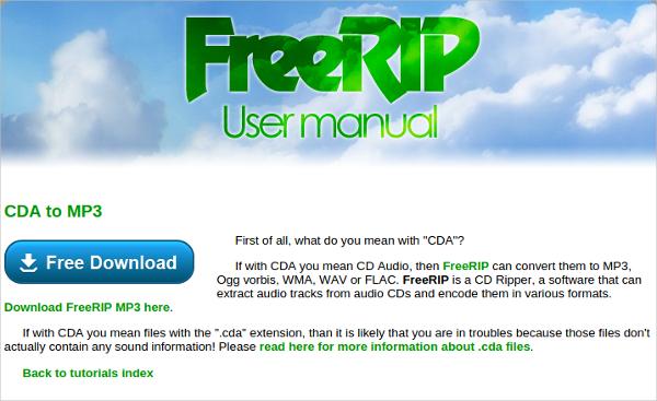 free rip converter