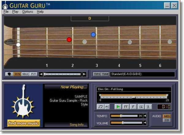 free windows guitar learning software
