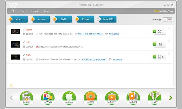 freemake video converter 3
