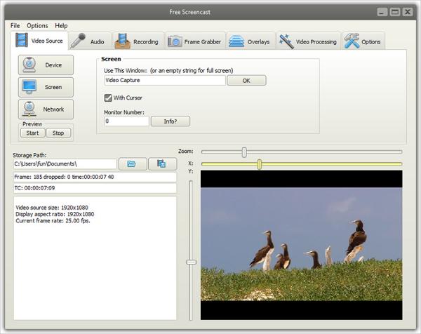 freescreencast – free webcam recorder