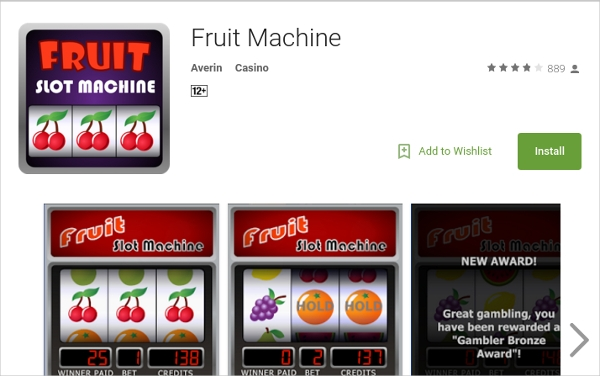 fruit machine