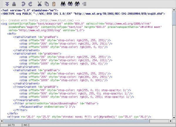 google code svg edit