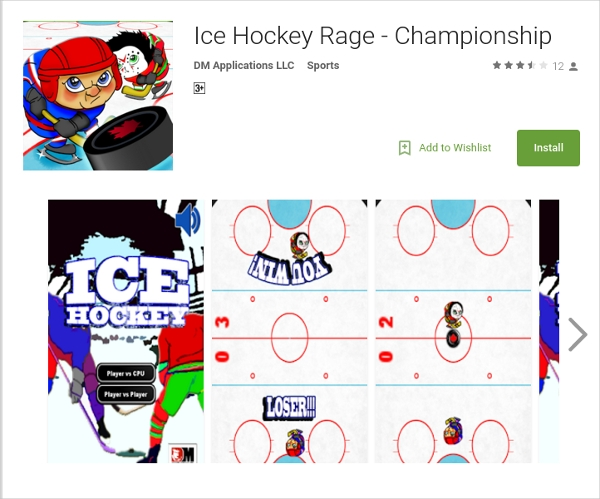 ice rage hockey