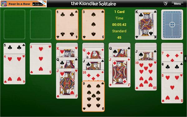 klondike solitaire 1