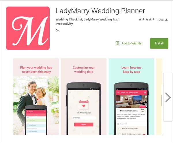 best beautiful wedding apps