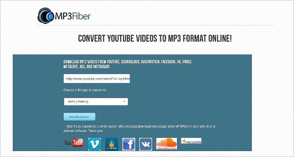 mp3 fiber