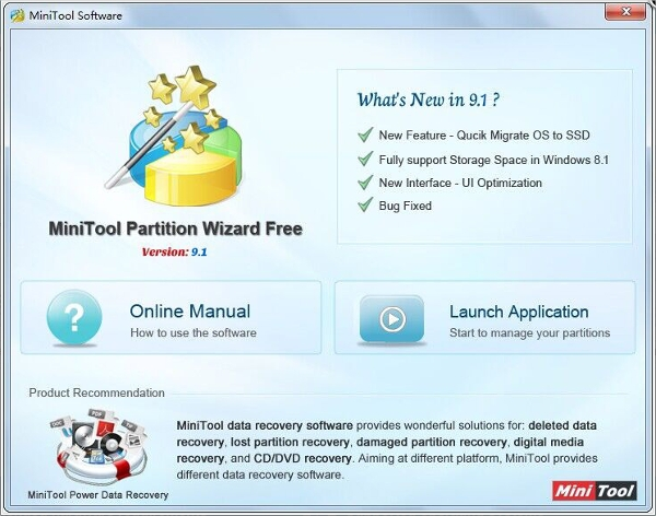 minitool partition