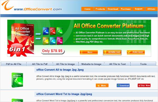 office convert