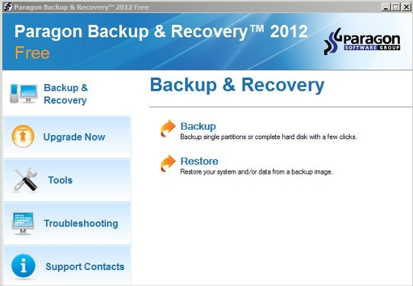 paragon backup recovery 12 home – multi usage backup software