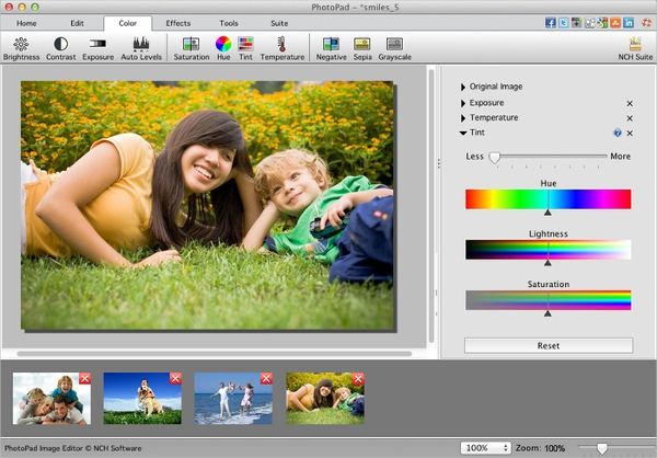 photopad photo editing software