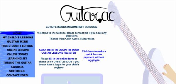school guitar