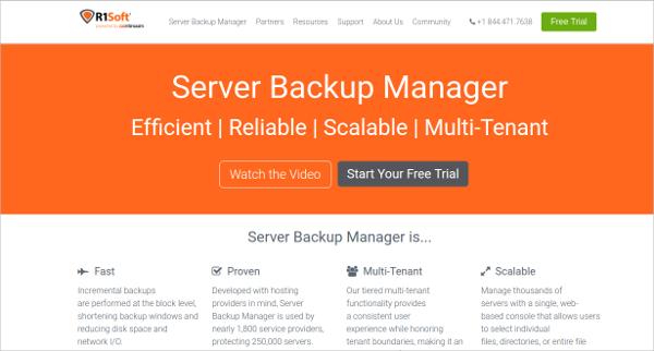 server backup manager