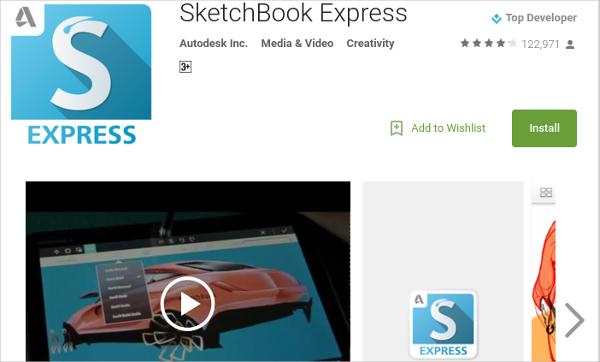 sketch book express