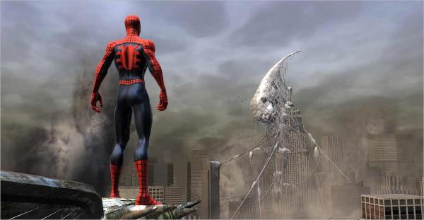 spiderman 2 web of shadows