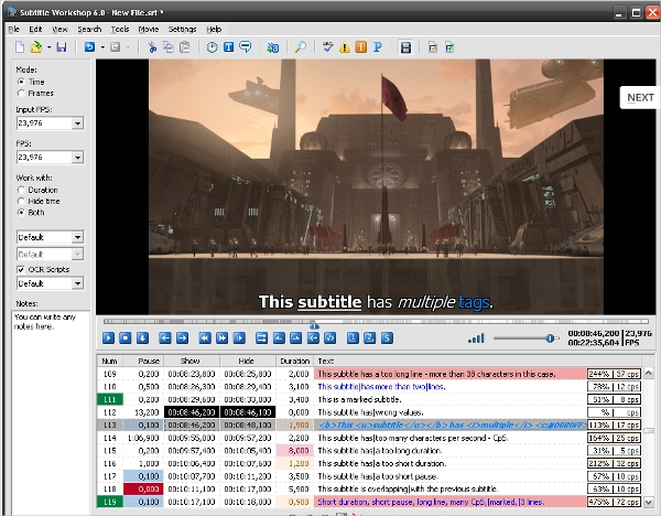 11+ Best Subtitle Editor Software for Windows, Mac, Android