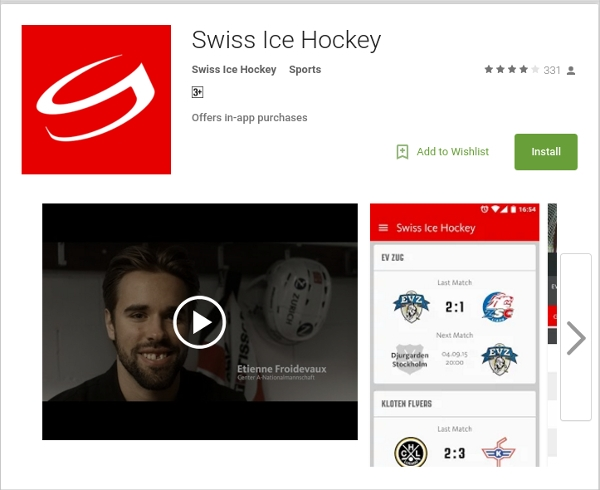 swiss ice hockey live