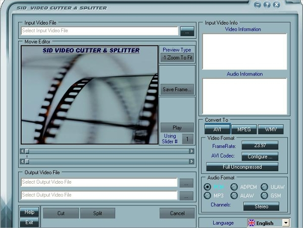 video cutter splitter