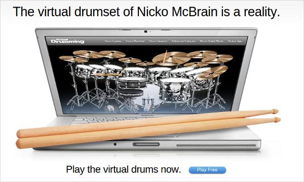 virtual drum electro