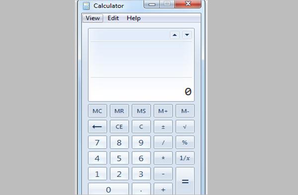 windows 7 calculator app