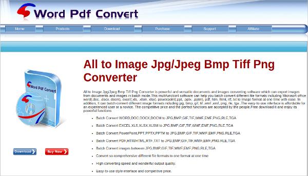 word pdf convert