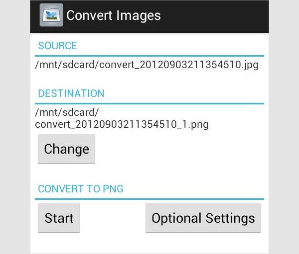 convert images