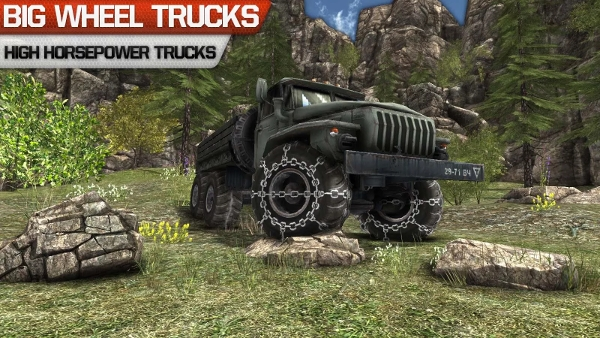 truck driver 3d offroad