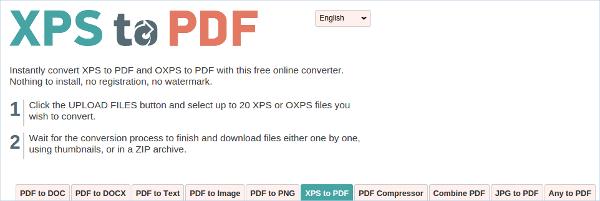 xpstopdf converter get the speediest conversion