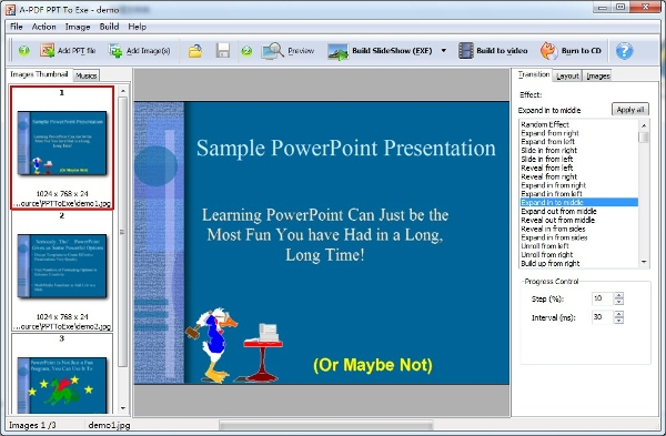 a pdf ppt to exe
