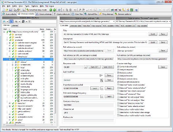a1 sitemap generator