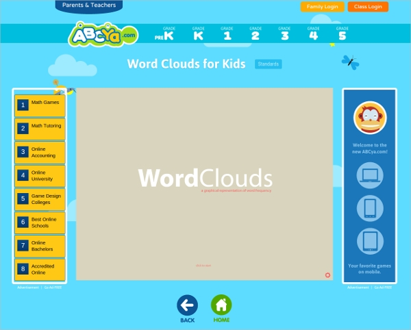 abcya word cloud for kids