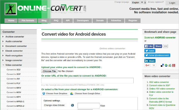 android video converter compressor software