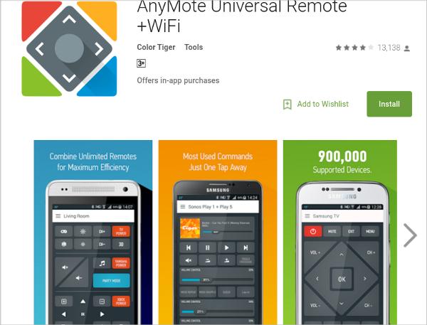 anymote smart remote control