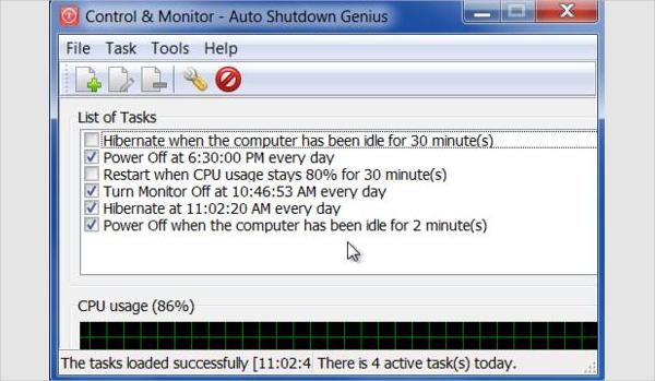 auto shutdown genius windows