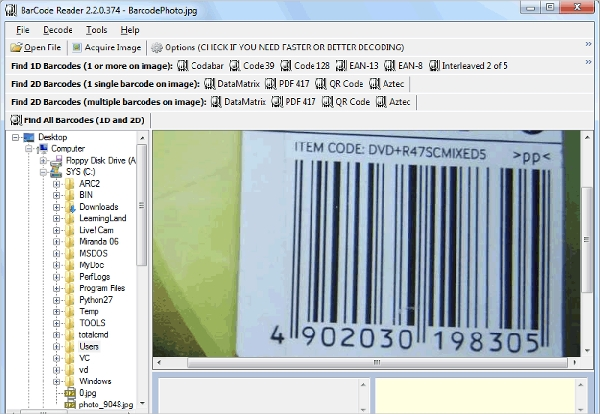 byte scout barcode reader