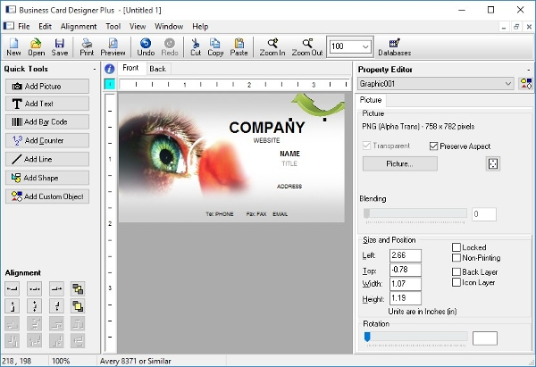 Business card creator reviews image collections card design and 7 best business card design software free download for windows cam development business card designer software reheart