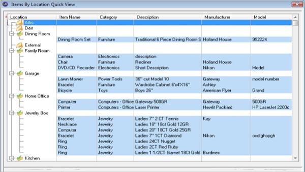 cya home inventory software