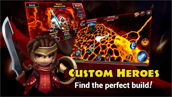 dungeon quest best android hack and slash gamesdungeon quest