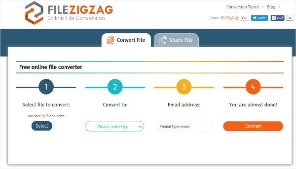 file zig zag