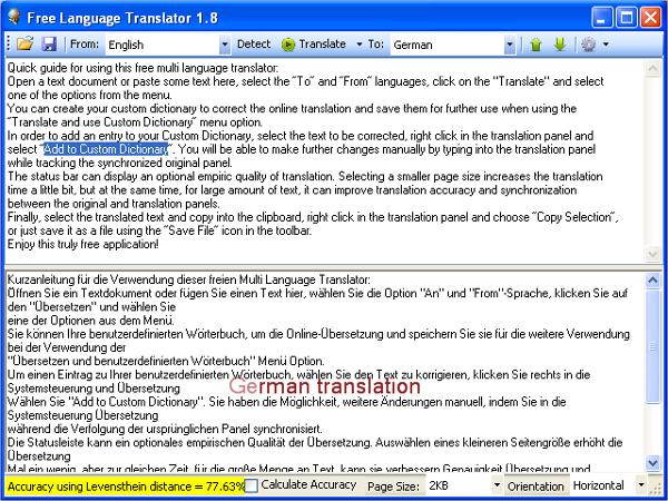 free language software