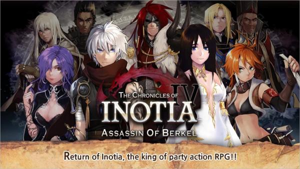 inotia 4 best android hack and slash gamesinotia 4