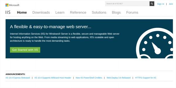 internet information server iis
