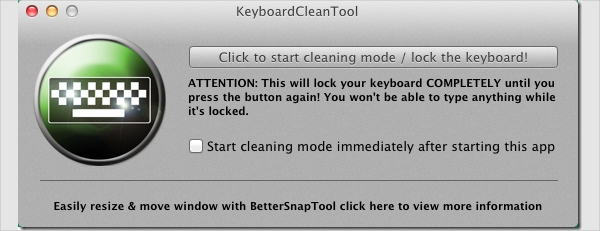 keyboard clean