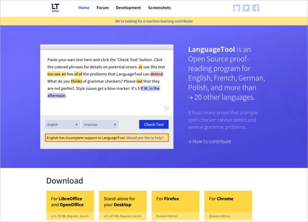 language tool 1