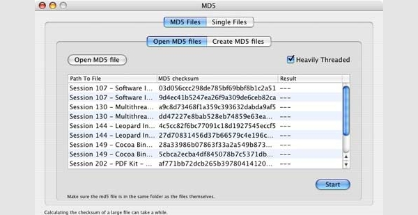 md5 for mac1