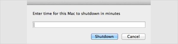 mac shutdown